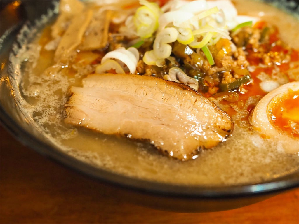 【江差町】食べると汗だく!夏にピッタリの白みそ担々/麺や壱