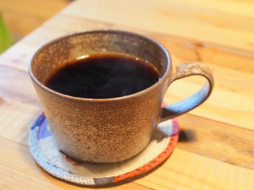 カフェ のらいぬのブレンドコーヒー