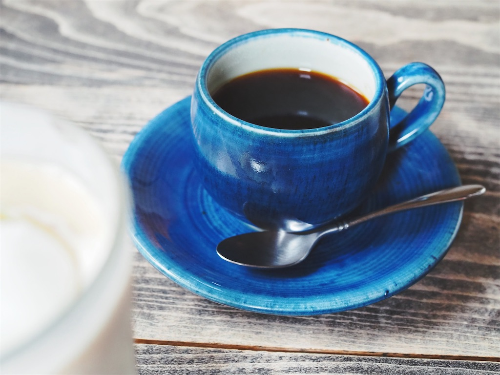 水花月茶寮のコーヒー