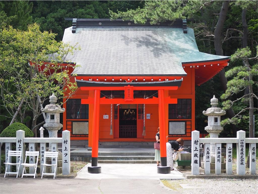 鶴若稲荷神社の社