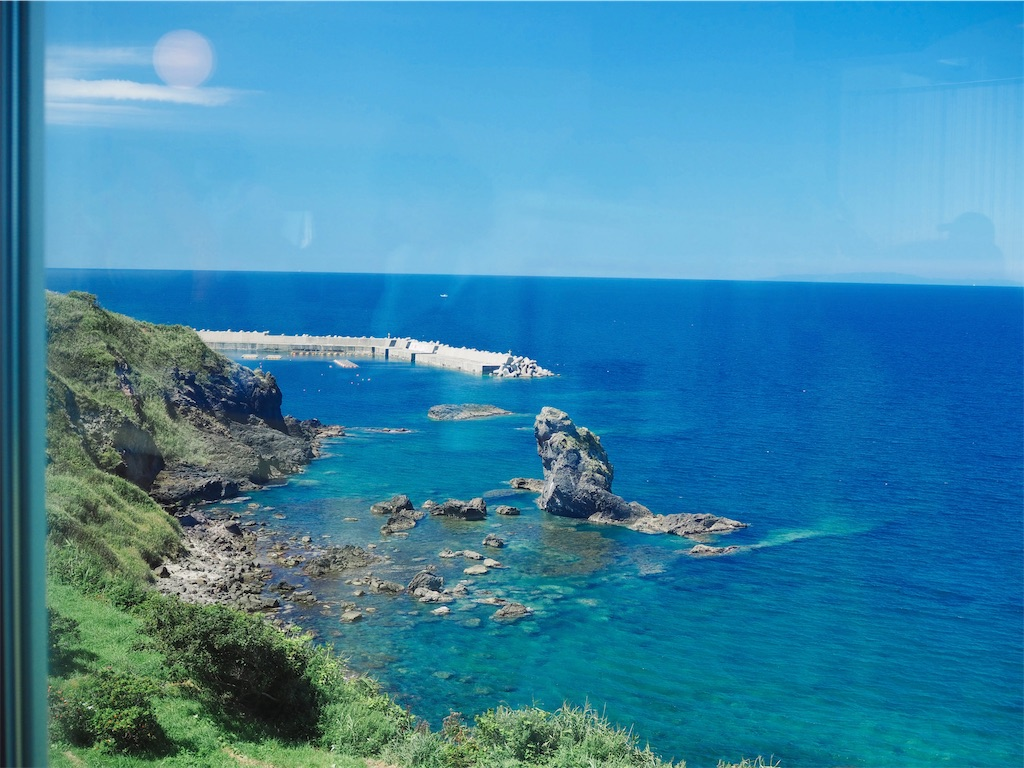 グルメブティックもんじゅの青い海