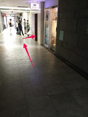 狎鴎亭両替所までの道なりを矢印を使って説明5