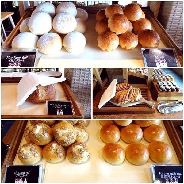 ロールパン ザ・プリンスギャラリー 東京紀尾井町 クラブラウンジ 宿泊記 SPG 朝食