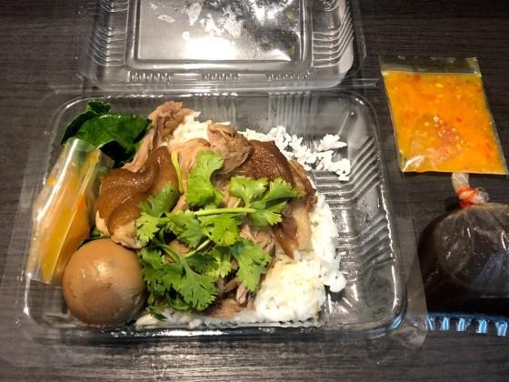 タイの屋台弁当