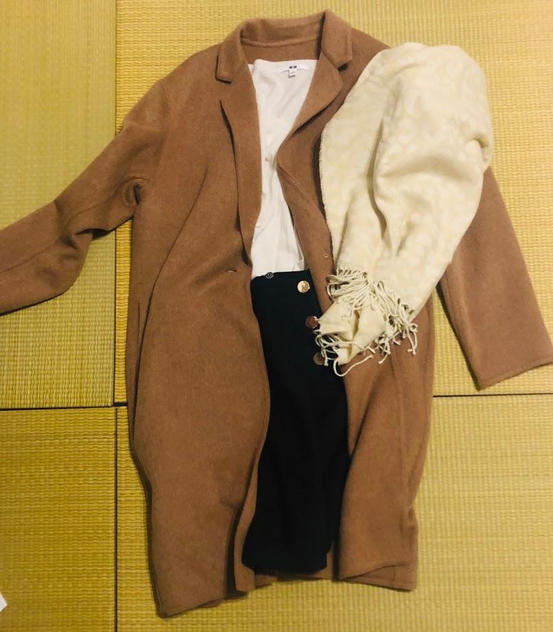 ユニクロのコート