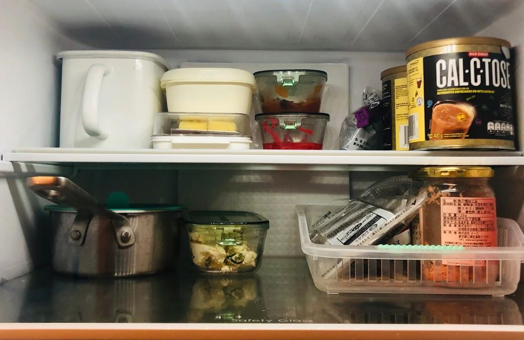 上段:発酵食品・残り物・お弁当