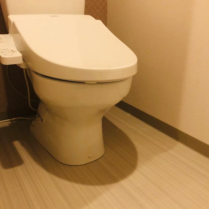 何もないトイレ_便器側