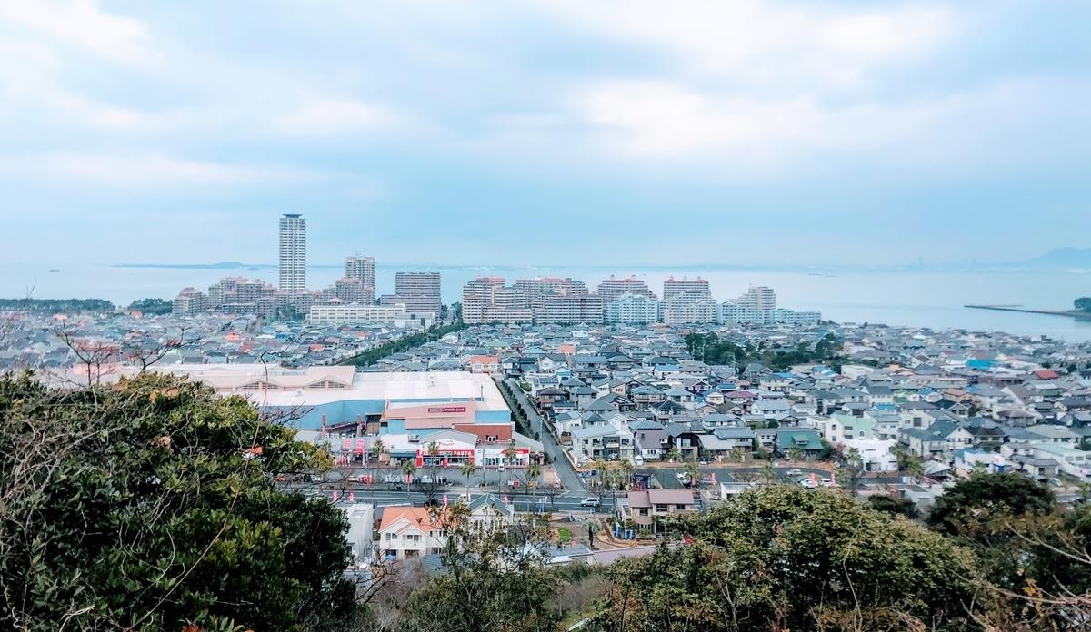愛宕神社からの景色(北)
