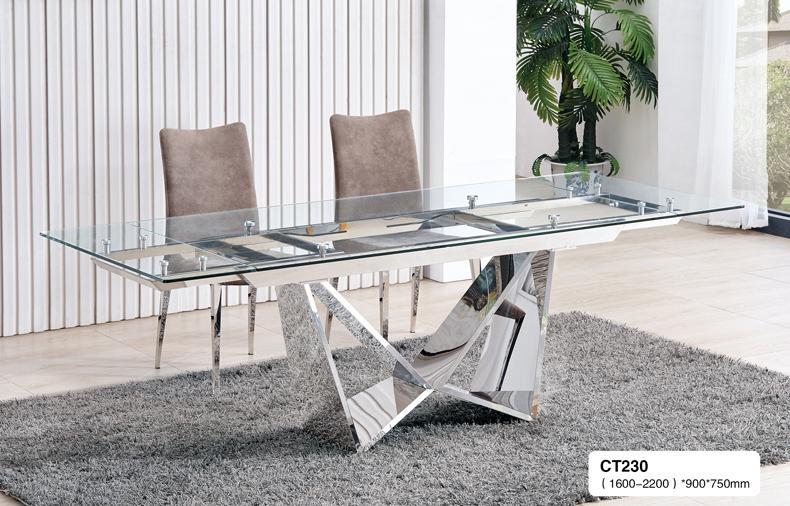 コンフィデンスマンで使用されているダイニングテーブル