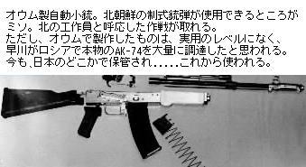 自動小銃密造事件