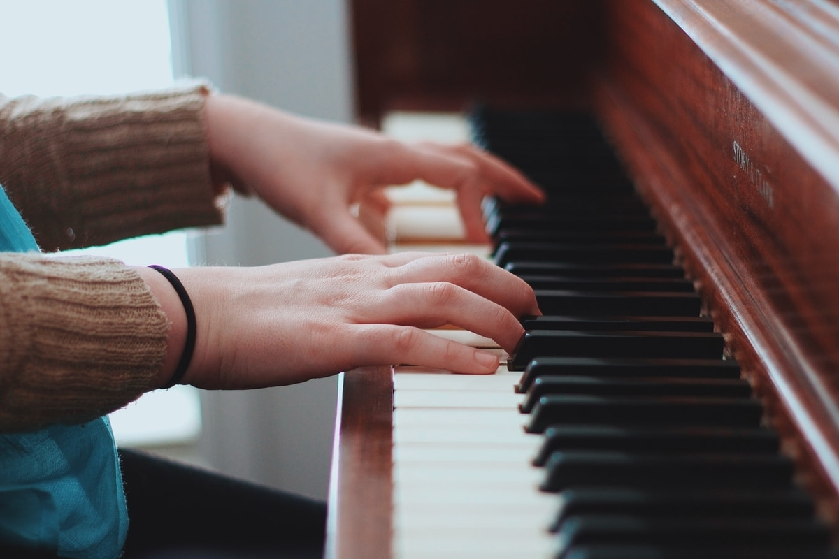 ピアノにはまっています
