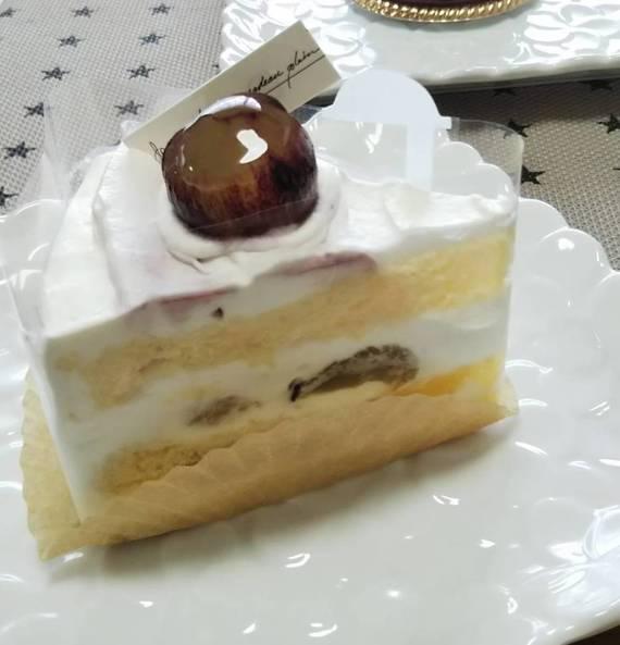 プルーストのぶどうのショートケーキ