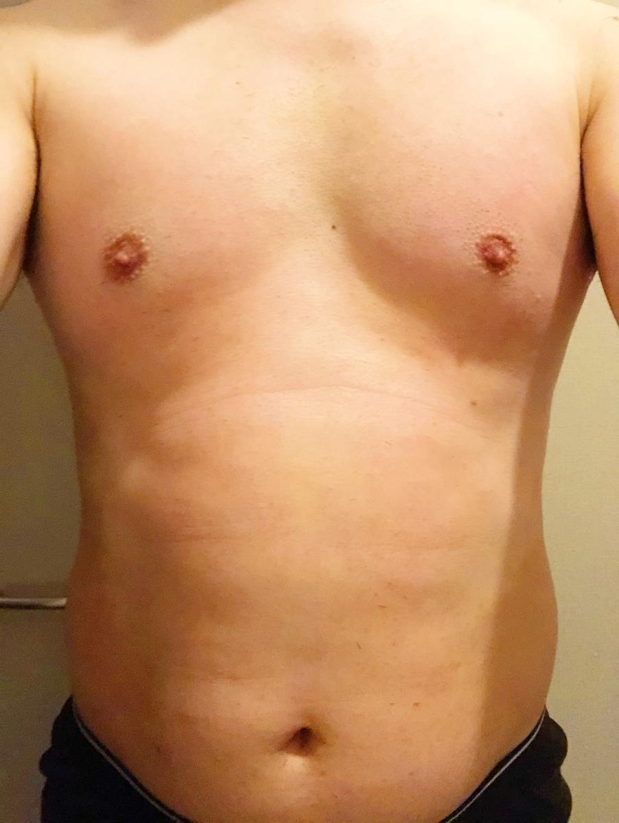 2021年5月20日(木) 時点のMASAの体型。気持ち、痩せてきましたかね?(笑)