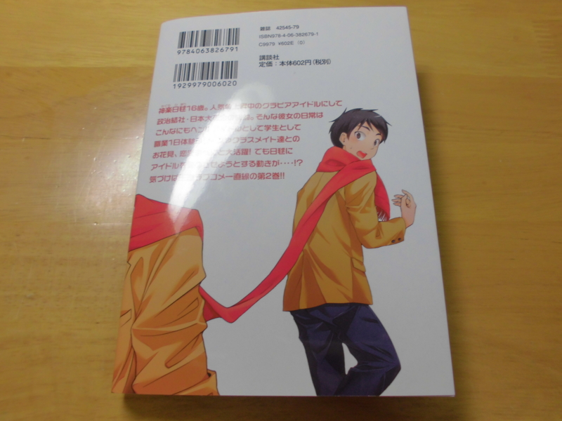 荒木宰、至道流星『大日本サムライガール新党』2巻 カバー