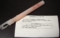 松浦亜弥20歳聖誕祭企画使用 白サイリウム&ビラ