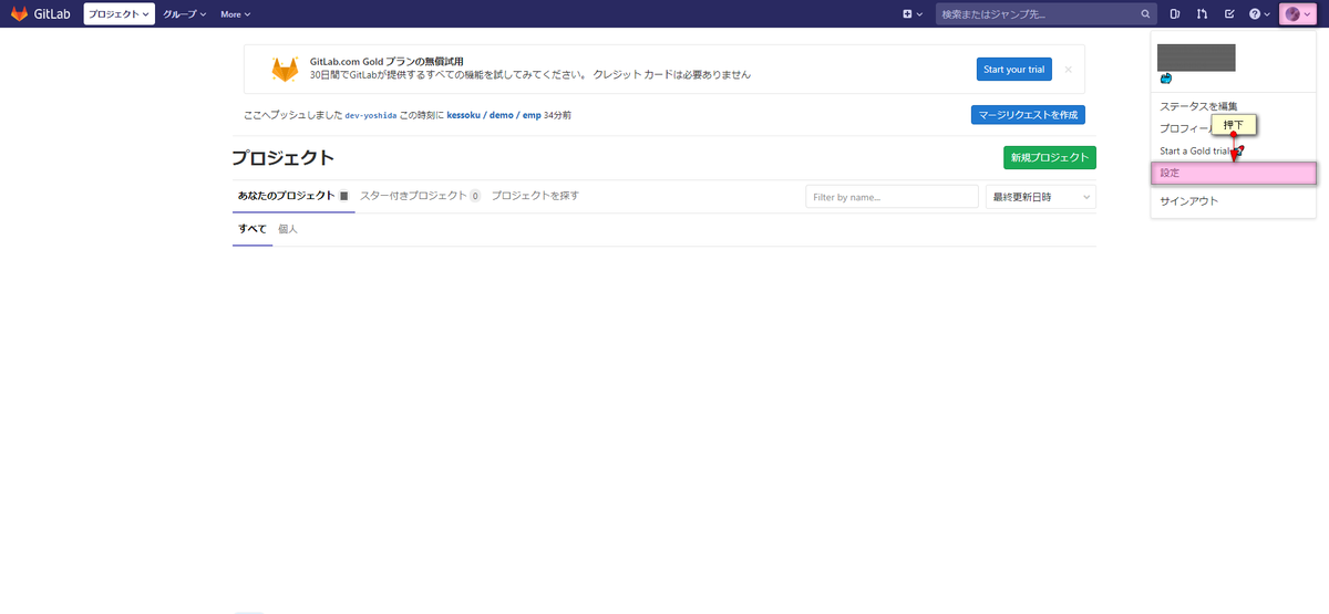 日本 語 gitlab