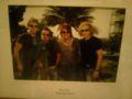 ホテル内にて、ボン・ジョヴィの写真