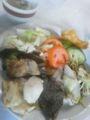 1日目昼食。中華料理のバイキング