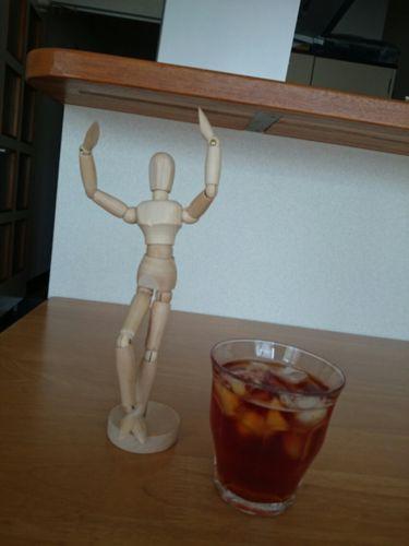 かたわらにある飲み物