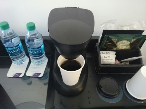 ホテルのコーヒーメーカー