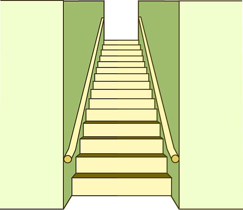 階段に手すりは両方必要。そのためにしなくてはいけないこと。