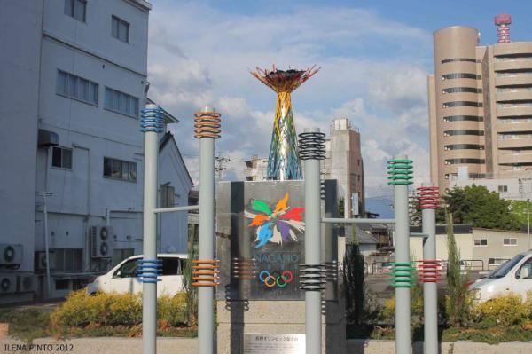 長野オリンピックのモニュメント