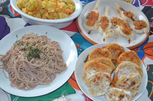 3つの長野県料理