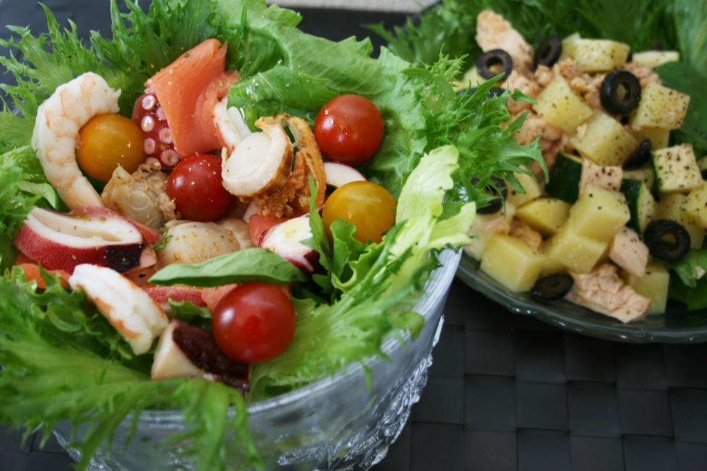 「サラダ」という名をつければ、たいがいのものはセーフになる法則@自宅デート