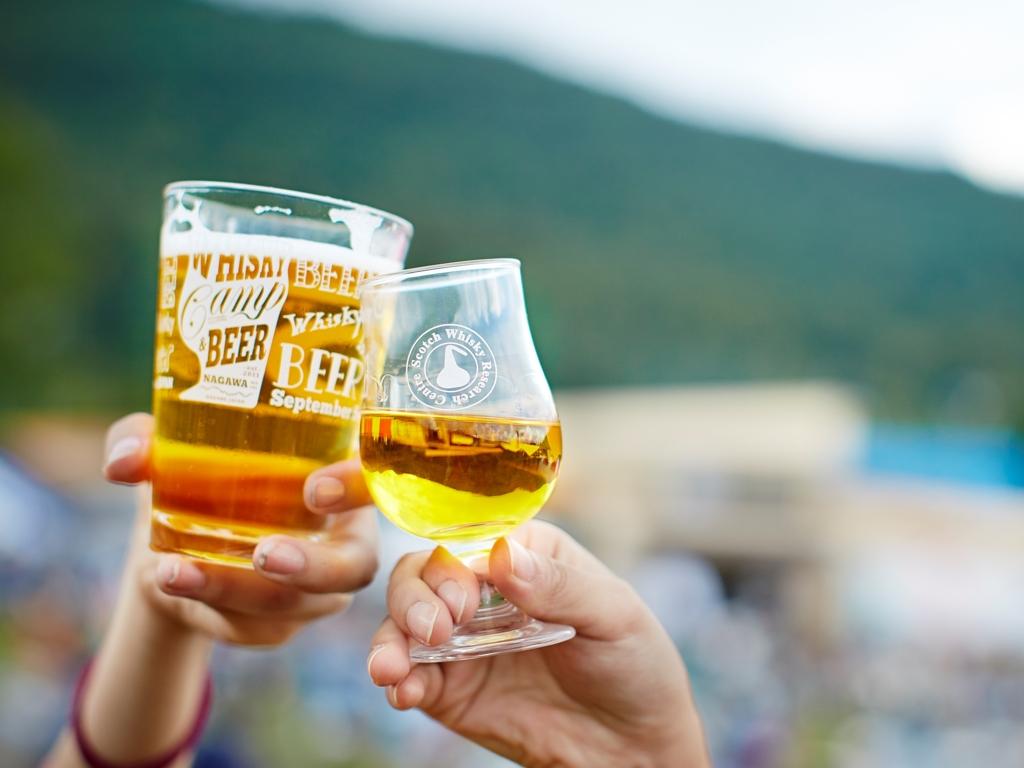 飲めなくても楽しい「飲みニケーション」の進化系野外フェス「ウイスキー&ビアキャンプ」開催!