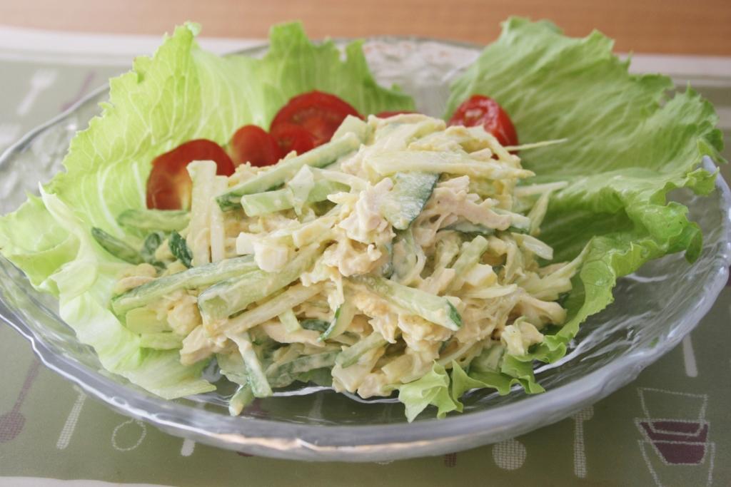ささみとマヨネーズという諸刃の剣が生み出すささみサラダの誘惑