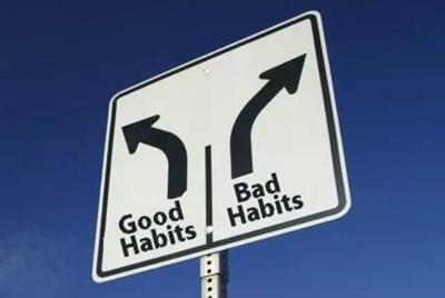 ついつい行ってしまう悪習慣を断ち切り良い習慣を身につけていく方法