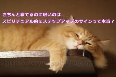 きちんと寝てるのに眠いのはスピリチュアル的にステップアップのサインって本当?