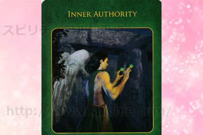 右カードを選んだあなたへのメッセージ Inner authority