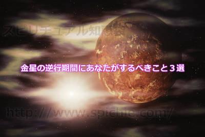 金星の逆行期間にあなたがするべきこと3選