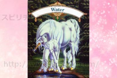 真ん中のカードを選んだあなたへのメッセージ WATER