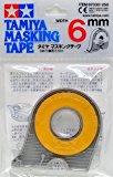 タミヤ メイクアップ材シリーズ No.30 マスキングテープ 6mm 87030