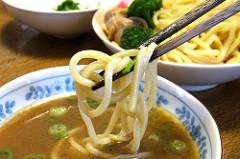 【つけ麺】けっこう太麺