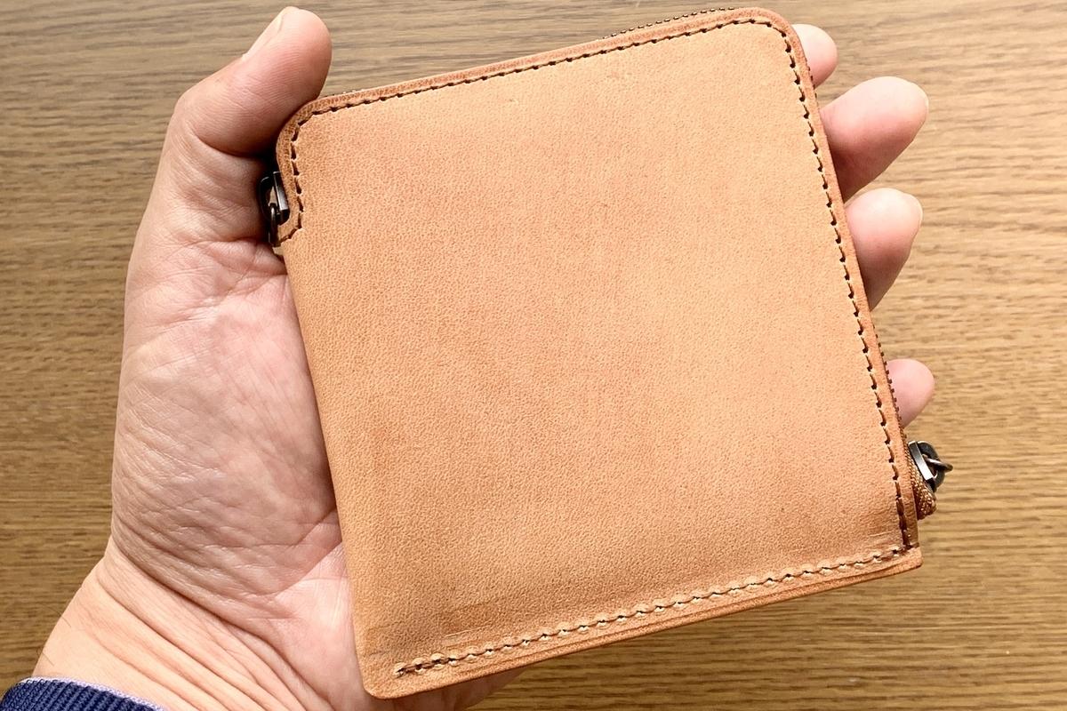 SYRINXの革財布HITOE2をゲット