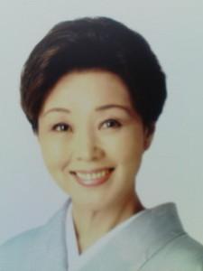 長山藍子さん きもの