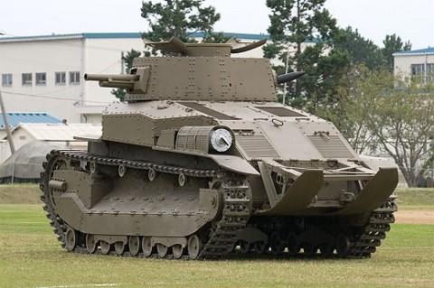 にほんぐん 89式 戦車 04