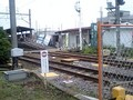 旧駅 解体中