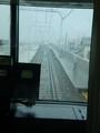 高架を かけあがり 桜井駅へと/南行