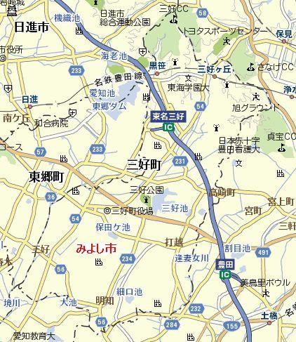 みよし市 地図
