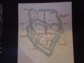 金沢城 たてもの 配置図