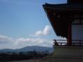 101011-28 大極殿 ごしに みる 生駒 山地