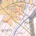 圦上 (いりかみ) 遺跡 位置図