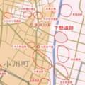 下懸 (しもかけ) 遺跡 位置図