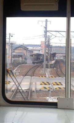 111020-111 明智鉄道で 恵那駅へ