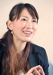 小椋久美子さん=森園道子氏 撮影 (まいにち)