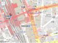 「OKB Harmony Plaza(ハーモニープラザ)名駅」 位置図 800-590